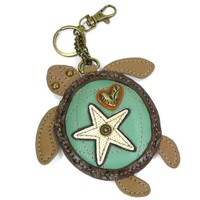 Coin Purse / Key Fob - Turtle