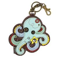 Coin Purse / Key Fob - Octopus