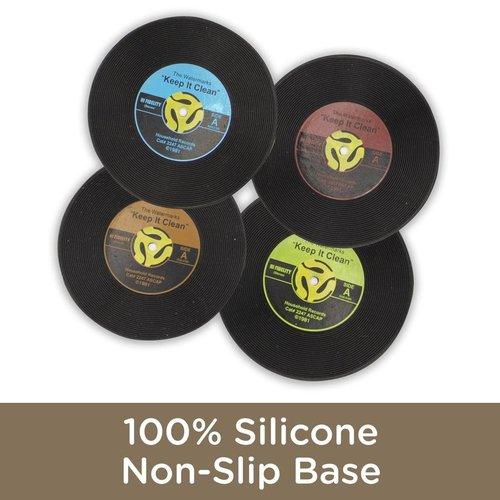 45 Single Record Coasters
