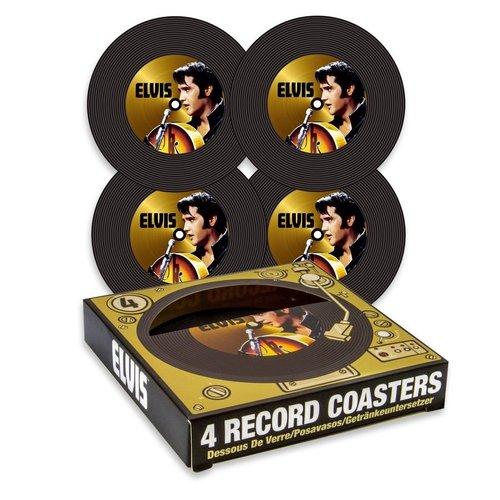Elvis Record Coasters (4 pack)