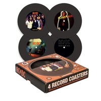 AC/DC Record Coasters (4 pack)