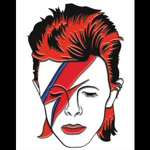 David Bowie Enamel Pin