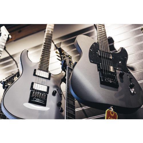 ESP/LTD ESP/LTD TE-1000 Electric Guitar with Evertune - Charcoal Metallic Satin