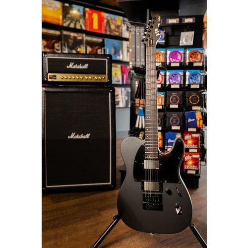ESP/LTD TE-1000 Electric Guitar with Evertune - Charcoal Metallic Satin