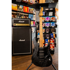 ESP/LTD SN-1000 Electric Guitar - Black Blast