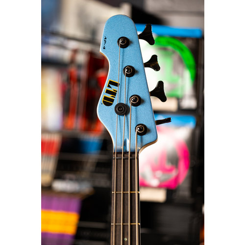 ESP/LTD LTD AP-4 Electric Bass - Left Handed - Pelham Blue