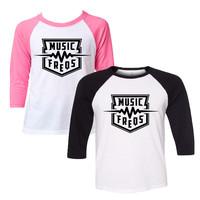 Music Freqs - Baseball T-Shirt (Youth)