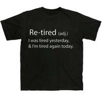 Retired Men's T-Shirt