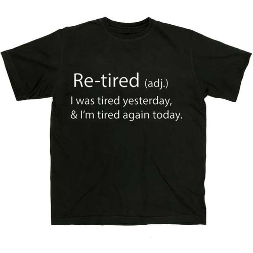 Maverick Tees Retired Men's T-Shirt