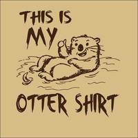 Otter Shirt Men's T-Shirt