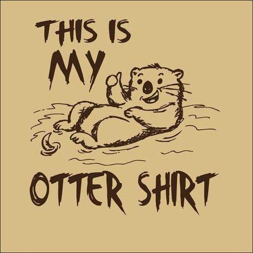 Maverick Tees Otter Shirt Men's T-Shirt