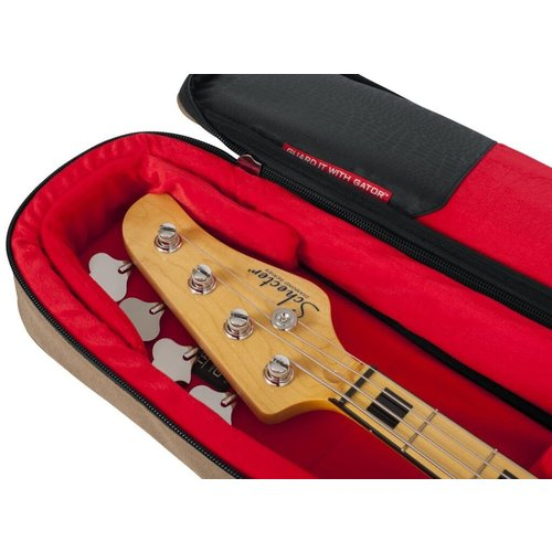 Gator Cases Gator Transit Electric Bass Gig Bag - Tan