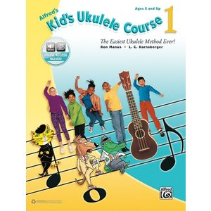 Alfred Music Alfred's Kid's Ukulele Course 1 Book
