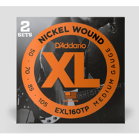 XL 50-105 Nickel Wound Bass Strings (2 Sets)