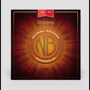 D'Addario 11-40 Nickel Bronze Mandolin Strings