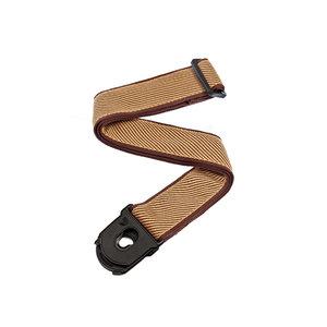 D'Addario Planet Lock Guitar Strap - Tweed