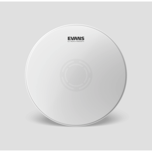 """Evans 14"""" Heavyweight Snare Batter Coated Drumhead"""