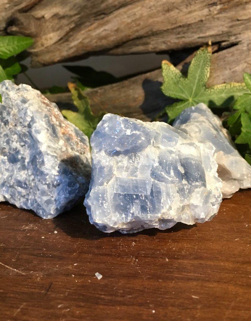 Blue Calcite Raw