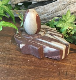 Shiva Lingam Stand and Egg