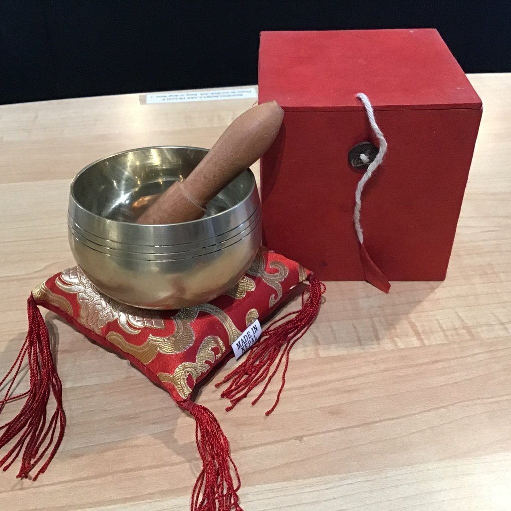 Red Singing Bowl Box Set Nepal