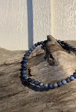 Dumortierite 4 mm Polished Bracelet