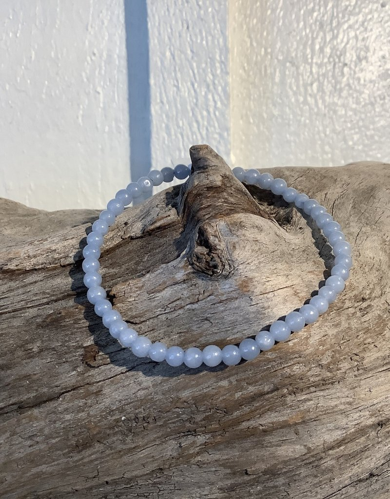 Angelite Bracelet 4mm