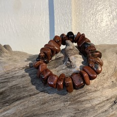 Mahogany Obsidian Bracelet Raw
