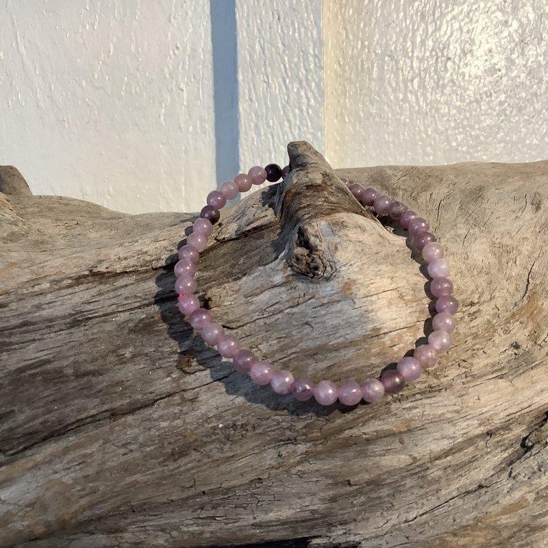 Lepidolite Bracelet 4mm