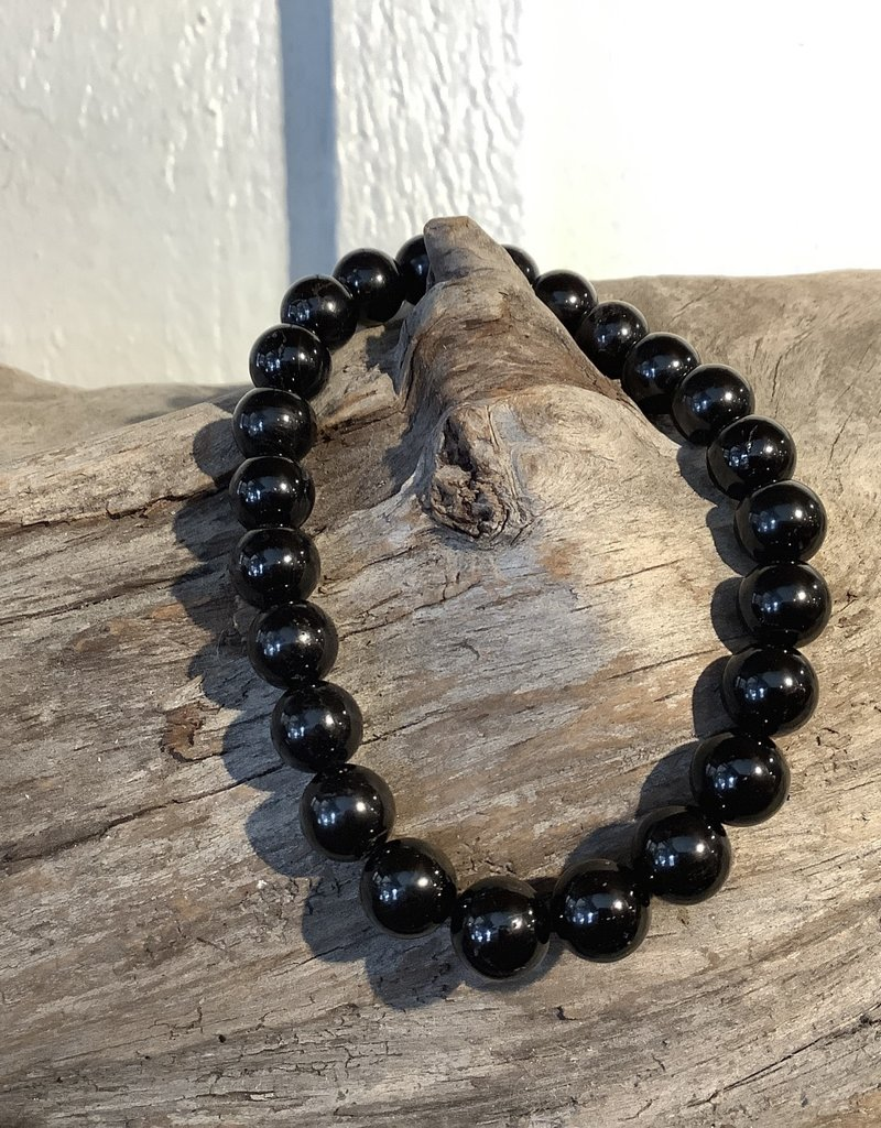 Black Tourmaline 8mm Bracelet