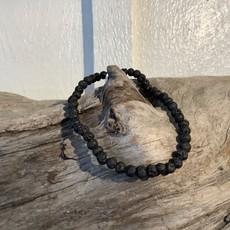 Lava Stone Bracelet 4mm
