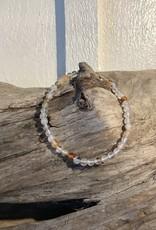 Agate Bracelet 4mm