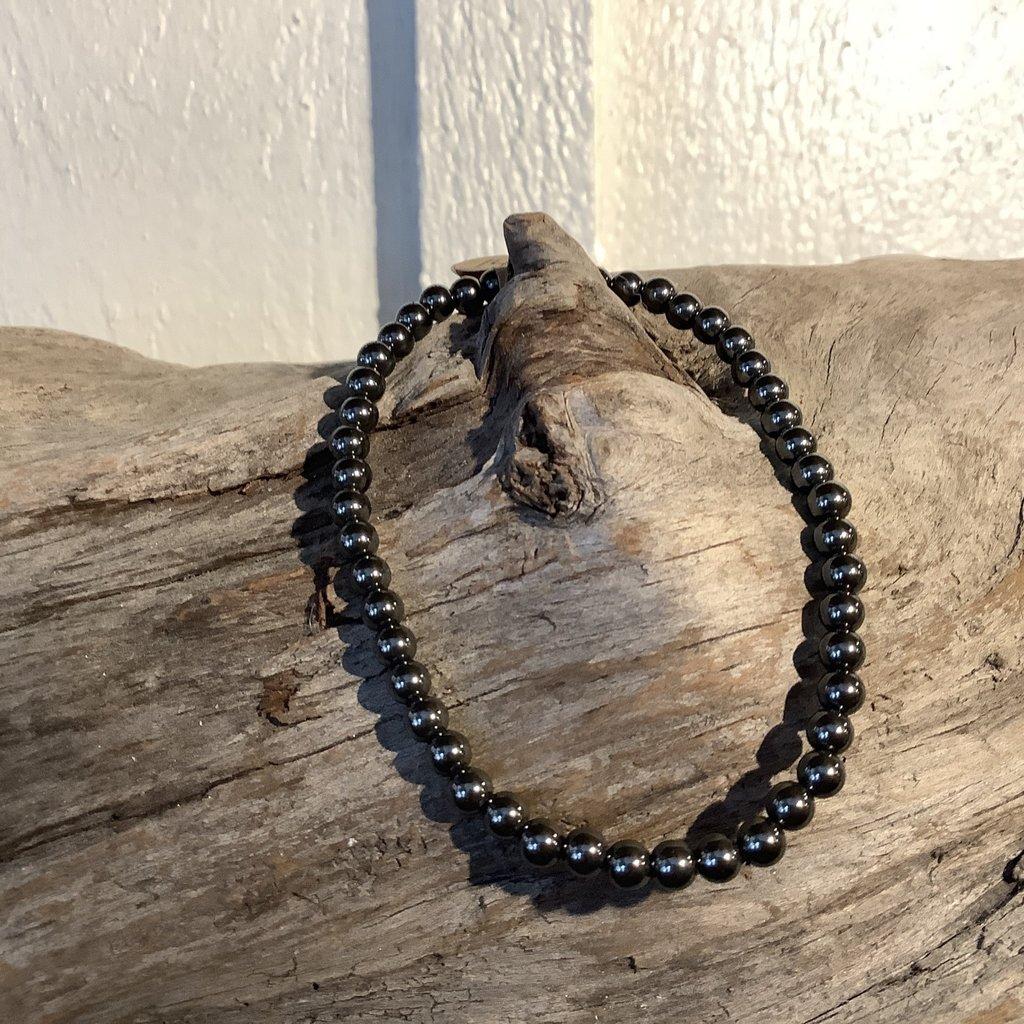 Hematite Bracelet 4mm