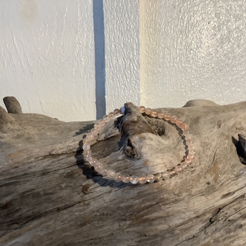 Sunstone Bracelet 4mm