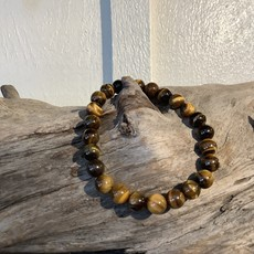 Tigers Eye 8 mm Bracelet