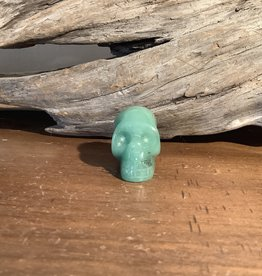 Aventurine Skull