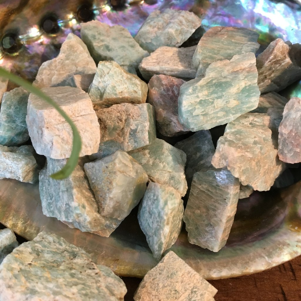 Amazonite Raw From Ontario