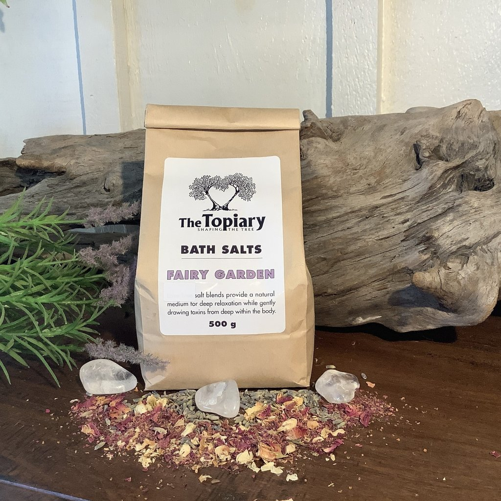 Fairy Garden Bath Salts