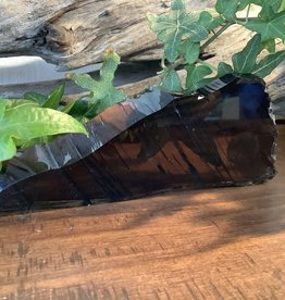 Smoky Obsidian slab