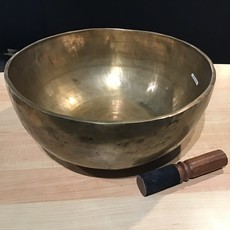 Hand Crafted Singing Bowl Large