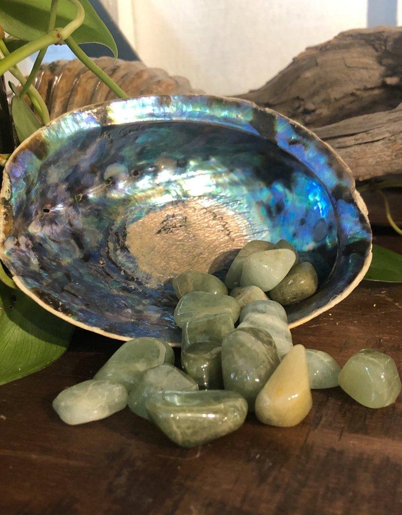 Green Beryl Tumbled