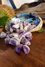 Amethyst Chevron Tumbled - In Back Stock