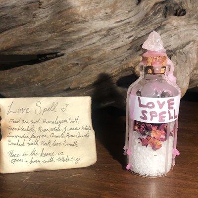 Love Spell Jar
