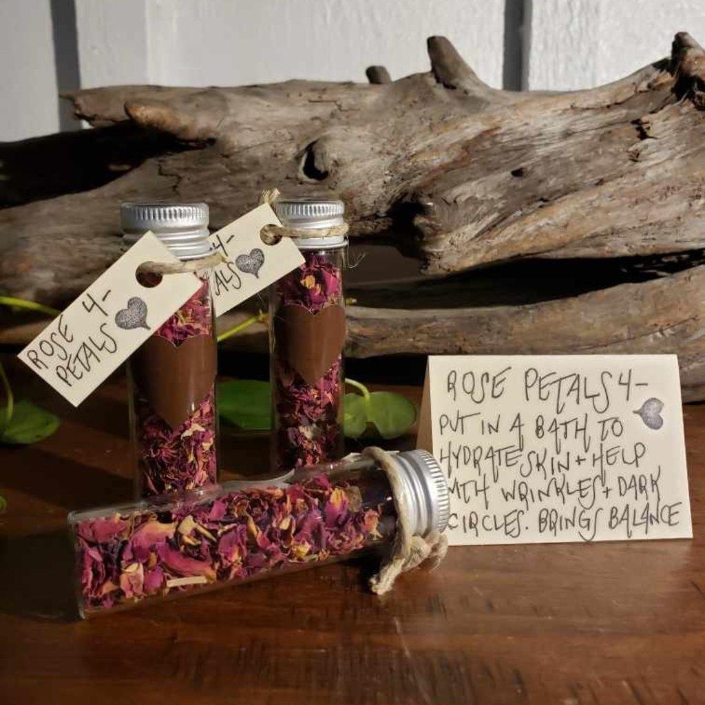 Rose Petals Jar Smudge