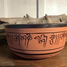 Orange Hand Crafted Singing Bowl