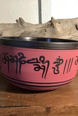 Red Hand Crafted Singing Bowl