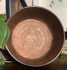 Hand Crafted Buddha Singing Bowl