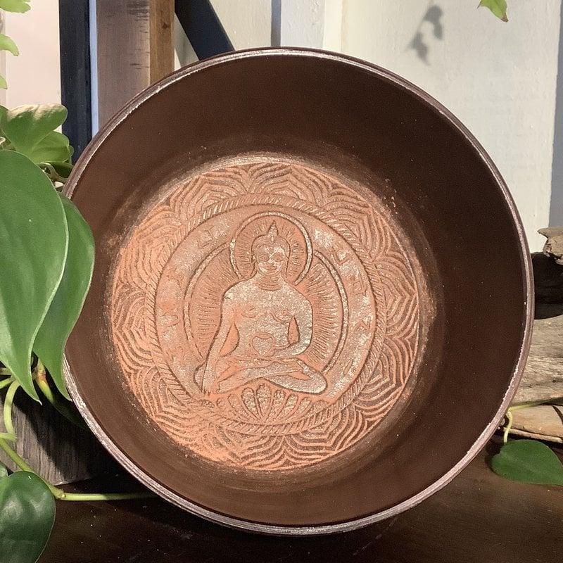 Hand Crafted Buddha Singing Bowl