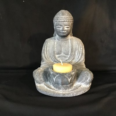 Buddha Candle Holder Statue