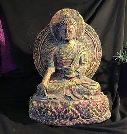 Buddha Chakra on Lotus Statue