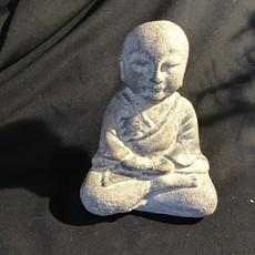 Monk Meditating Statue